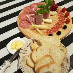Mixed Cheese and Cold Cuts