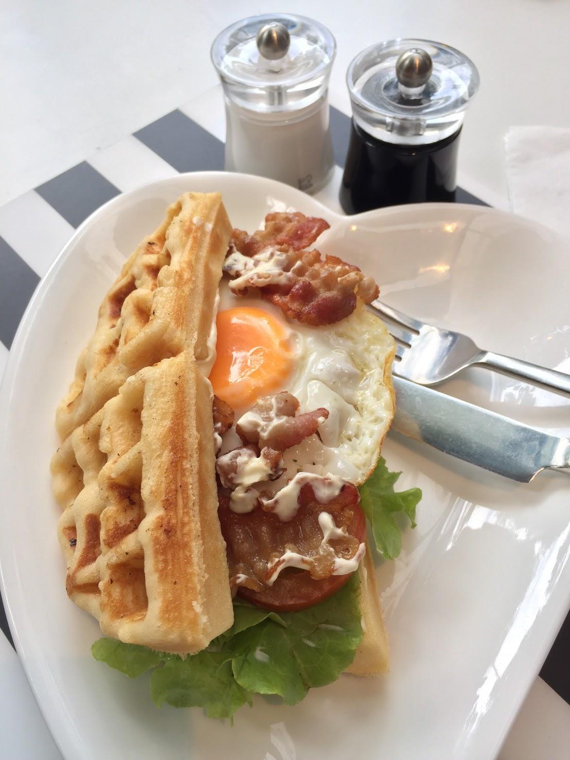 """Waffle """"BLT"""""""