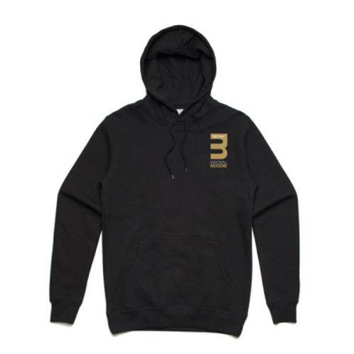 Black B&M Logo Hoodie