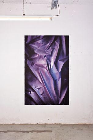 Peinture acrylique sur papier arches 115x180cm 2019 Contemporary Painting Art