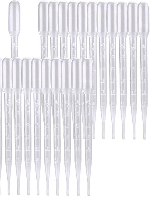 10 Pack - Plastic Pipette 3ml