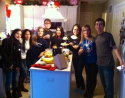 Youth Ambassadors Making Dinner!
