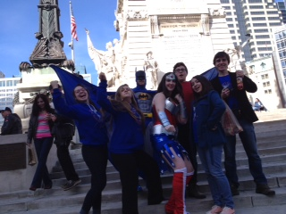 Day time fun on the Circle!