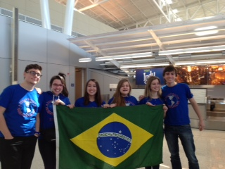 Brazilian Youth Ambassdors' Arrival!
