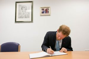 Prince Harry visits Mildmay Hospital to mark the official opening