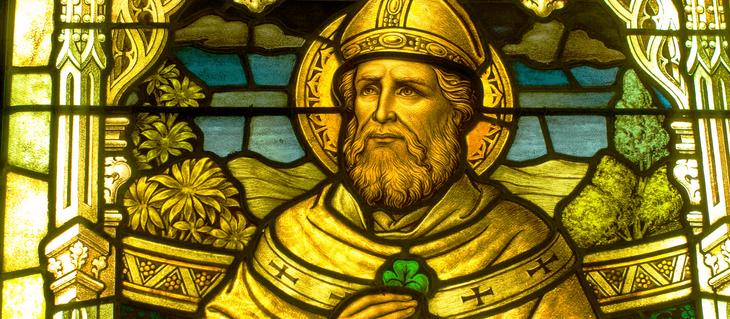 St Patrick, Principal Patron of Ireland, 17 March