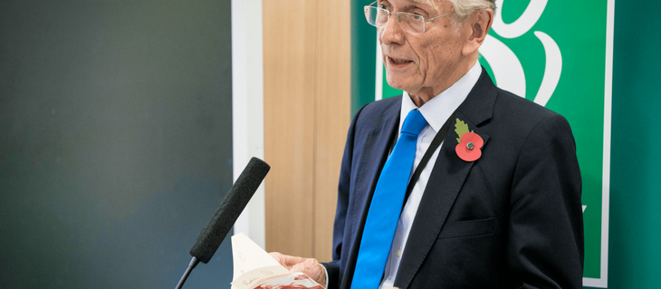 Our President, The Right Hon Lord Fowler pays tribute to Helen Taylor Thompson