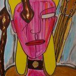 Art work created by Boy George