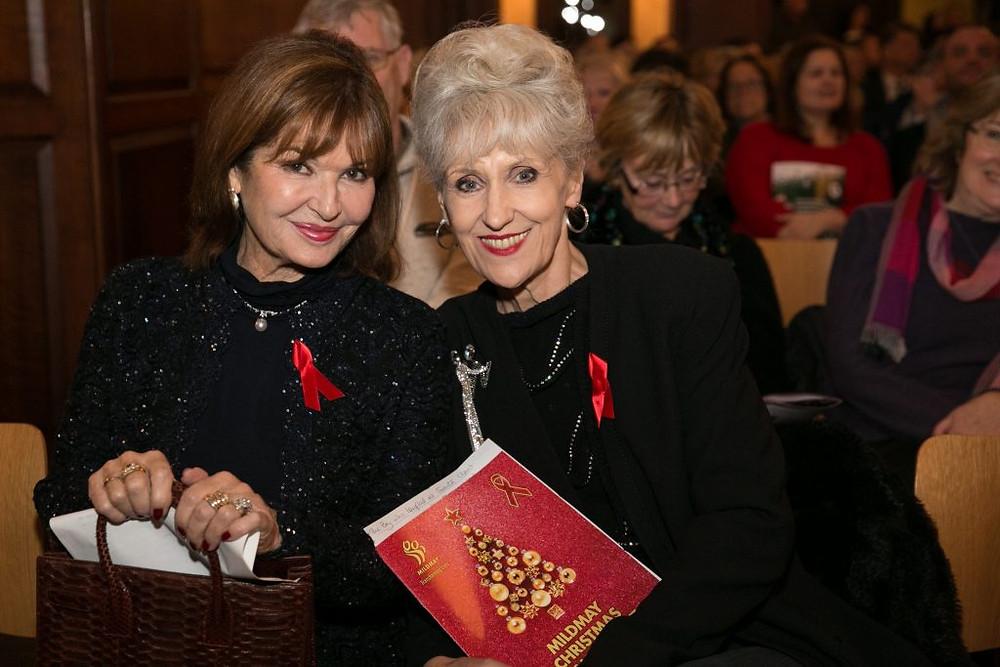 Stephanie Beacham and Anita Dobson