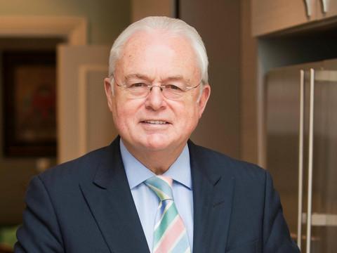 Mildmay's newest patron: Sir Martyn Lewis CBE