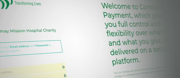 Mildmay introduces a new way for our supporters to manage their Direct Debit donations
