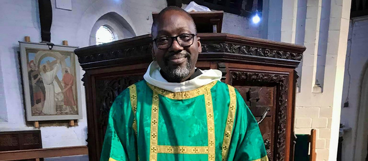 Volunteer Chaplain Father Jide Macaulay ordained as a priest in the Church of England