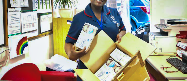 Our community's support for Mildmay Hospital is amazing