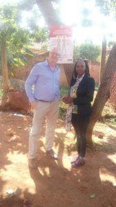 Ross and Elizabeth at Mildmay Uganda June 2017
