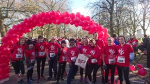 World AIDS Day Red Run with Team Mildmay