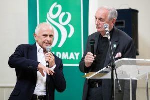 Wayne Sleep shares his memories with host Canon Roger Royle and our guests