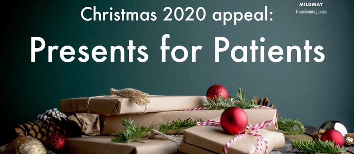 Christmas 2020 appeal: Presents for Patients