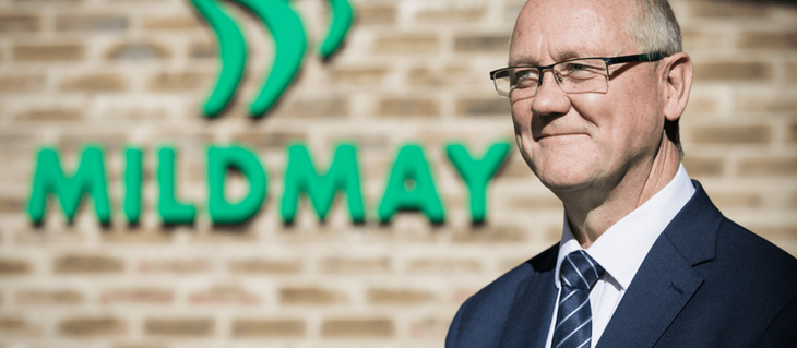 A heartfelt thank you from Geoff Coleman, Mildmay's Chief Executive