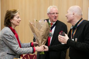 Dr Andrew Parmley, Lord Mayor of London visits Mildmay Hospital - 5Dec16