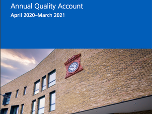Just published: Mildmay's Quality Account for 2020-21