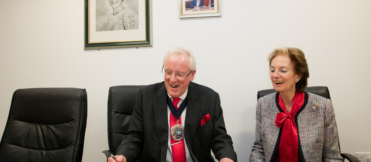 The Lord and Lady Mayoress of London visit Mildmay