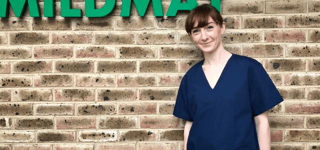 Beautiful, handmade scrubs donated to Mildmay by Scrub Hub East London