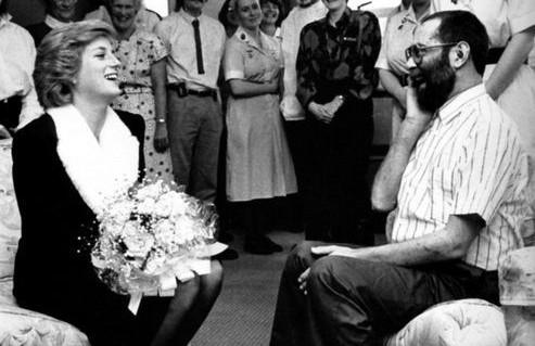 Honouring Diana, Princess of Wales at Mildmay Hospital