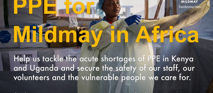 New appeal: PPE for Mildmay in Africa
