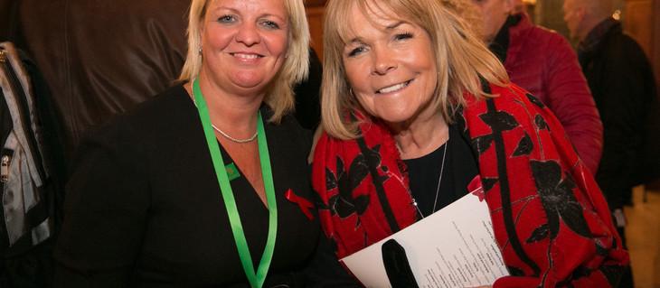 Linda Robson talks 'Christmas' ahead of her appearance at Mildmay's Carol Concert