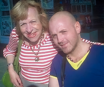 Chaplain Pauline and son Paul prior to 2014