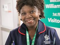 Comfort Adams clinical lead nurse
