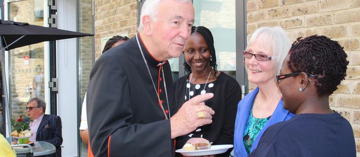 Cardinal Vincent Nichols visits Mildmay