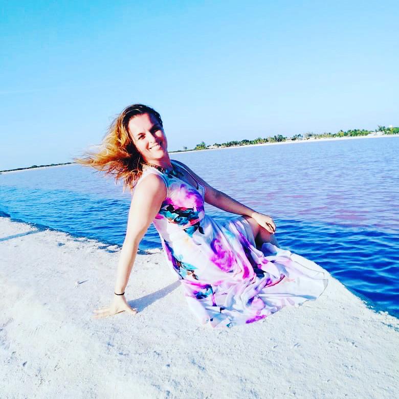 Pink Lakes, Mexico