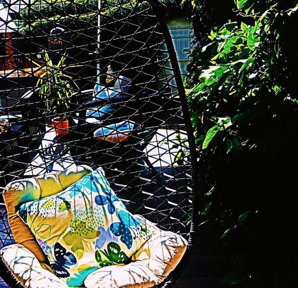 Garden at Airbnb