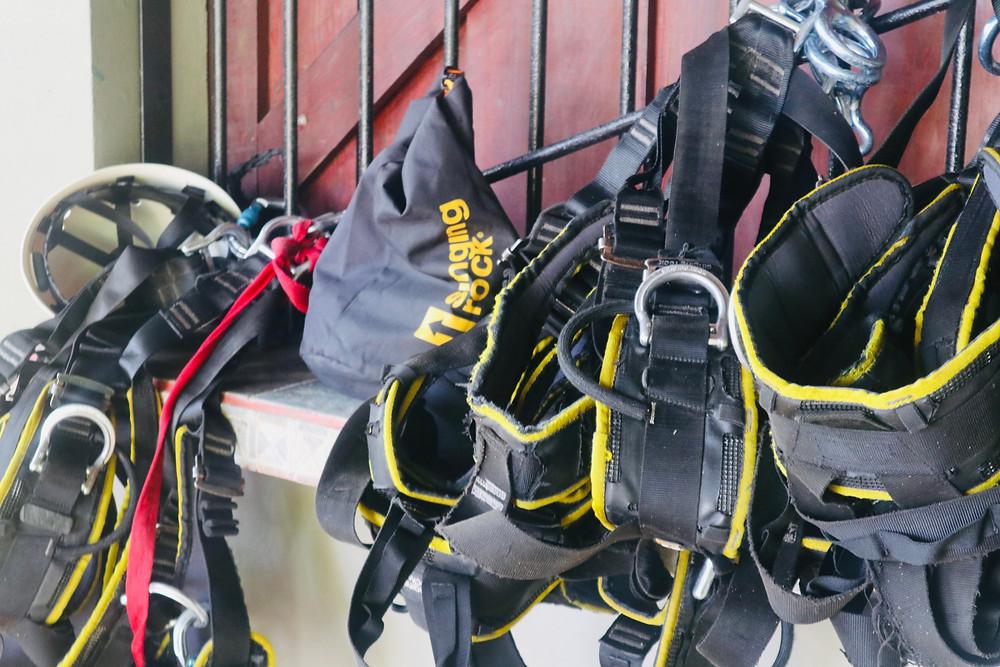 Harnesses via Desafio Adventure Company