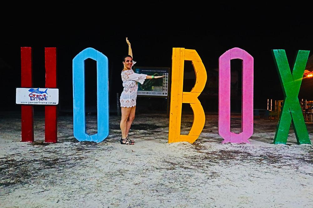 Holbox Island Sign