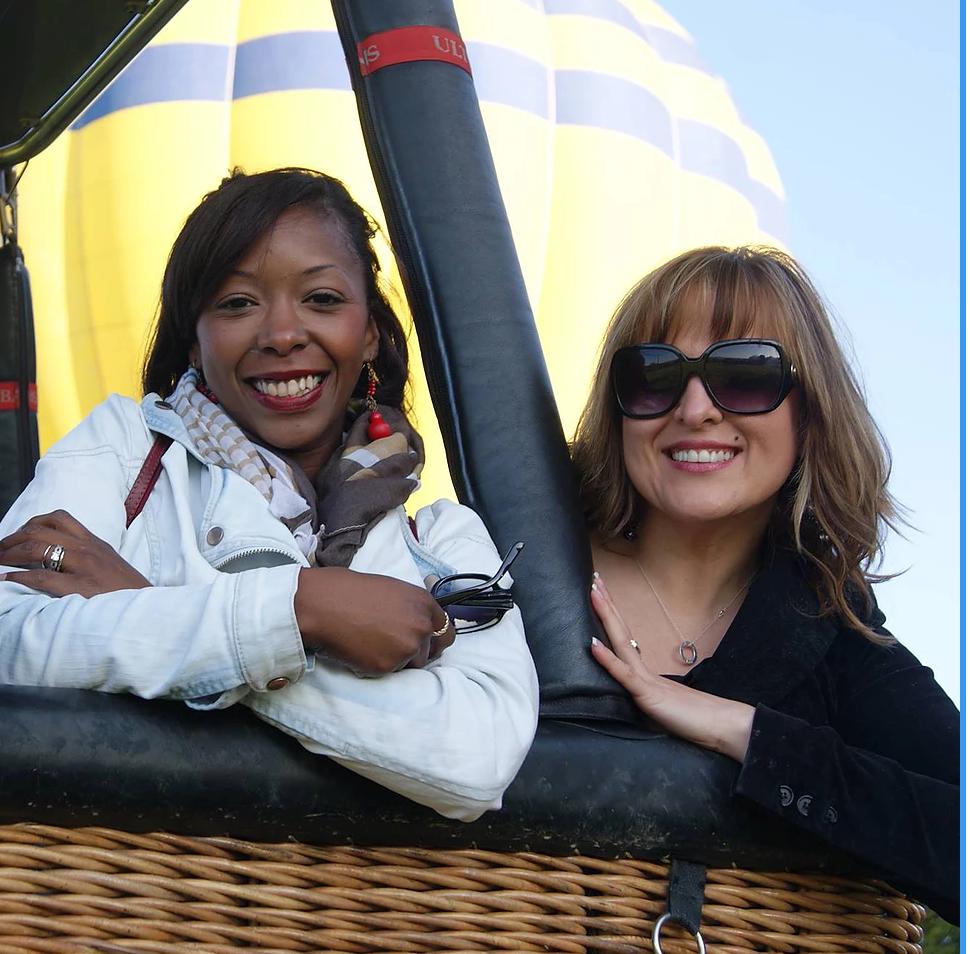 Hot Air Balloon Ride near Barcelona, Spain