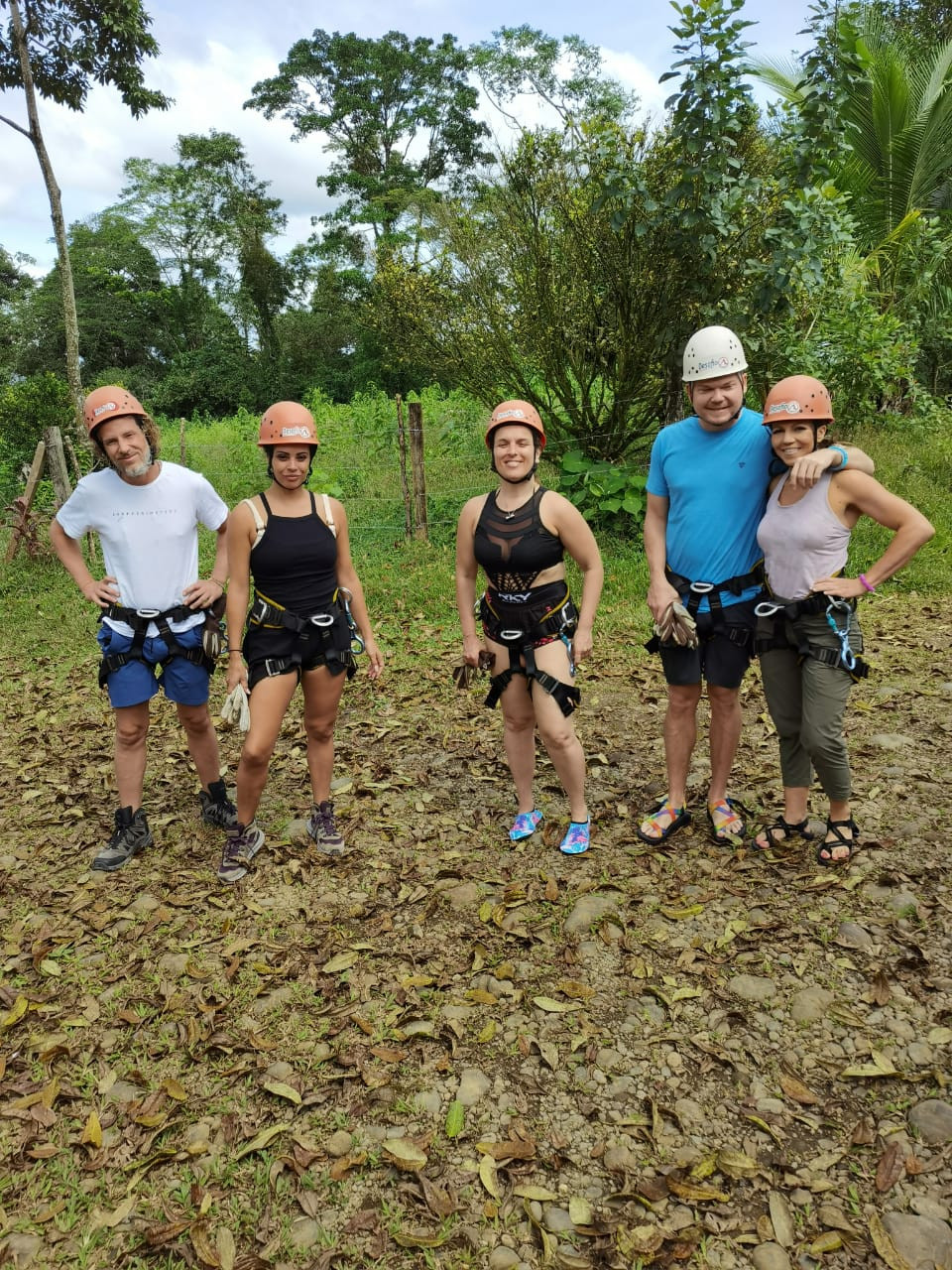 The Adventurers Canyoning in Lost Canyon Costa Rica