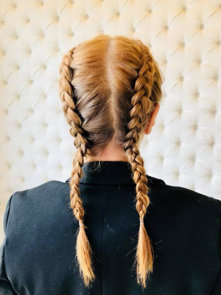 Braids I got at DryBar Buckhead for Our Creation Weekend