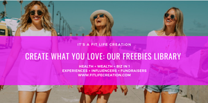 LIFESTYLE TRANSFORMATION AND ENTREPRENEURSHIP FREEBIES