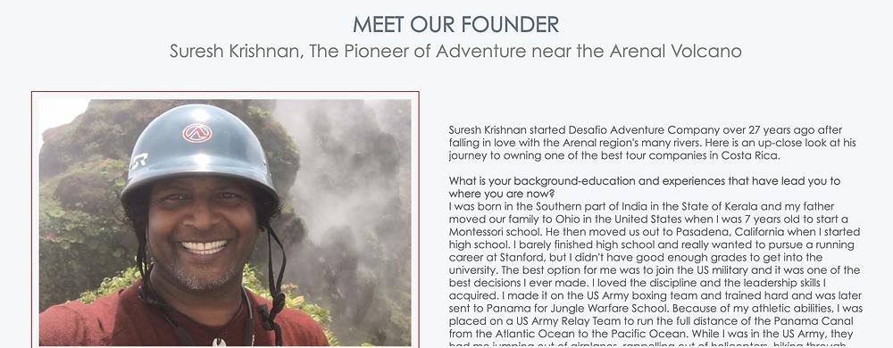 Desafio Adventure Founder