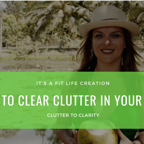 How to Clear the Clutter in Your Life: Stuff, Space, Sanity