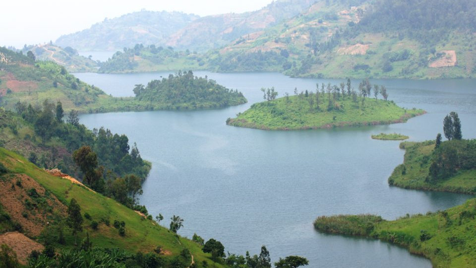 Lake Kivu, Kongo