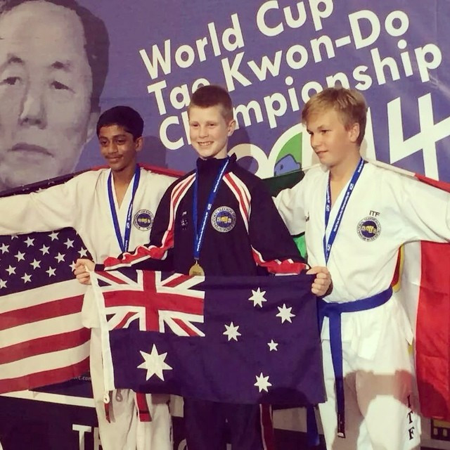 Instagram - AUSTRALIA wins GOLD at the World Cup in Rome 2014! Congratulations C