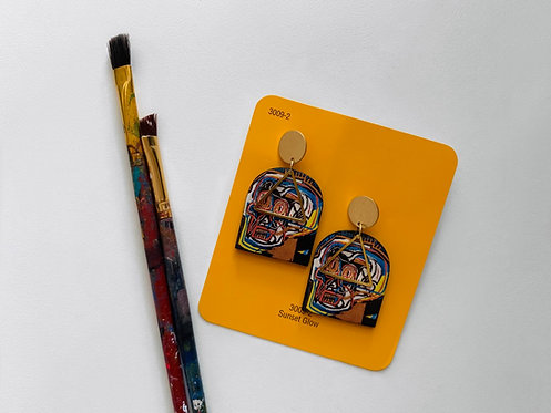 Basquiat Dangle Earrings