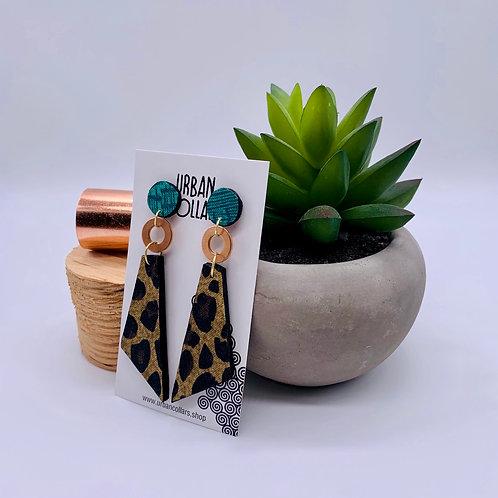Leopard Stella Earrings