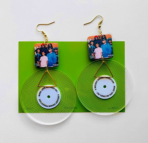 The Internet Vinyl Record Earrings
