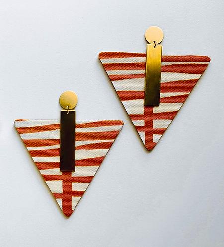 Ari Triangle Earrings