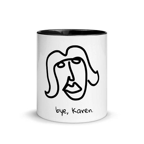 Bye, Karen Mug