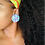 Thumbnail: Confetti - Jumbo Textile Earrings